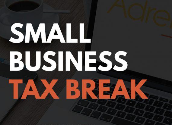 Small Business Tax Break