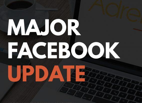 Major Facebook Update – January 2018