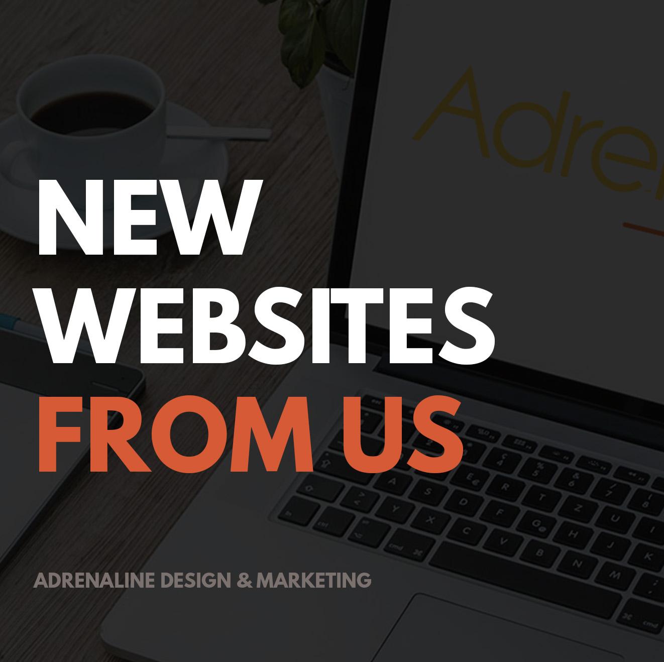 New Websites from Adrenaline
