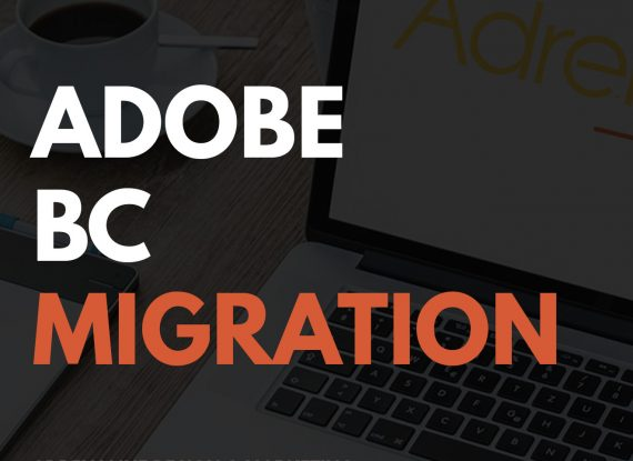 Adobe Business Catalyst Migration