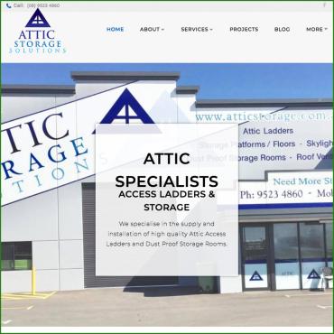 Attic Storage Solutions