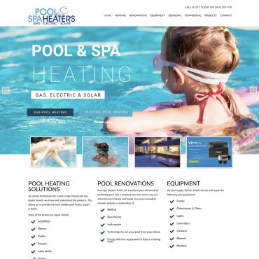 Pool & Spa Heaters Perth
