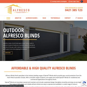 Alfresco Blinds Perth